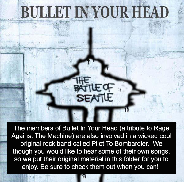 Bullet In Your Head