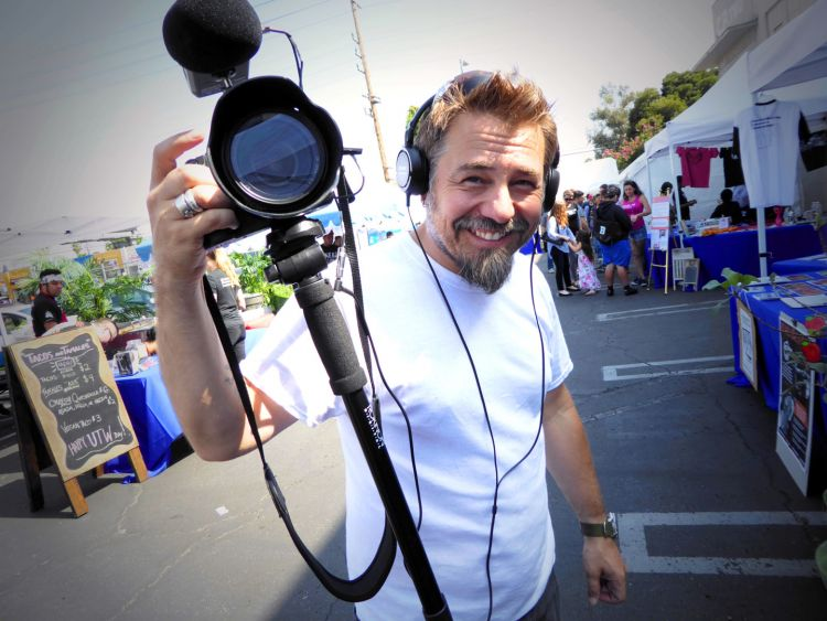 Our awesome cameraman and UTW Day L.A. team member, Michael Caradonna