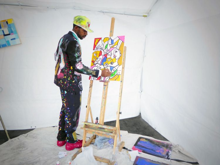 Live artist Ron King